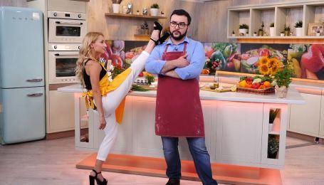 Руслан Сенічкін і Яна Цибульська танцюватимуть ча-ча-ча на кухні