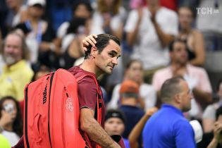 Федерер не справился с погодой на US Open: Мне буквально не хватало воздуха