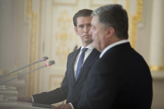 Курц: Очікуємо дуже чіткої реакції на російську агресію