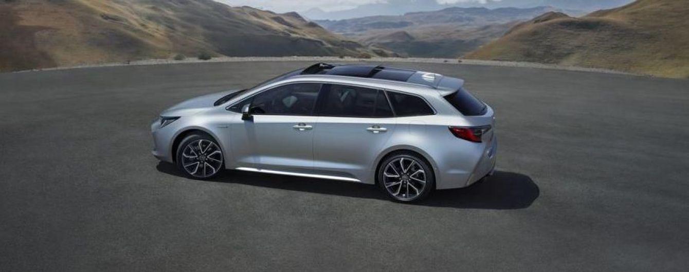 Toyota раскрыла подробности универсала Corolla Touring Sports