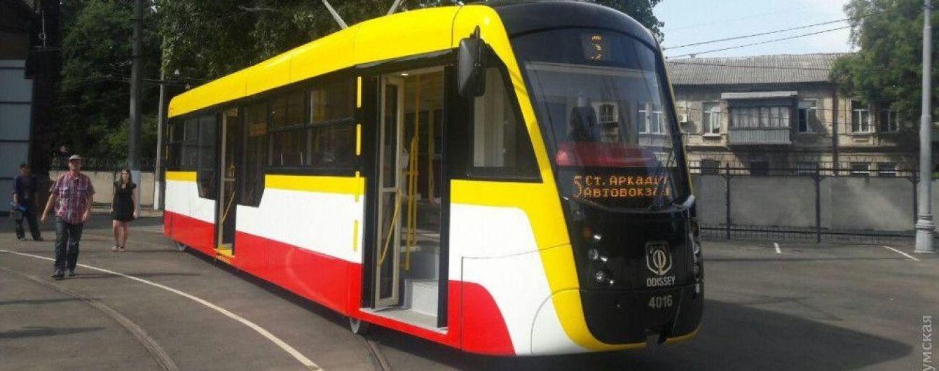 По Одессе начнет курсировать футуристический трамвай