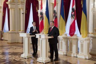 Чемпионаты и свадьбы с казаками не остановят РФ: Порошенко рассказал о мощной поддержке от Австрии