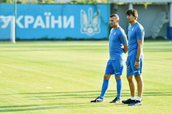 Шовковський став новим помічником Шевченка у збірній України