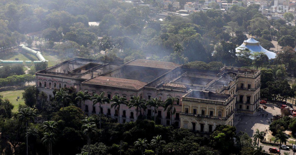 Втрачена спадщина: фото спустошеного музею в Ріо-де-Жанейро з висоти пташиного польоту