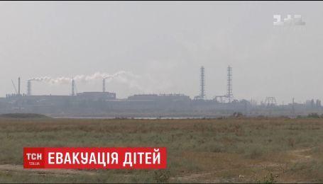Из Армянска вывозят всех детей из-за загрязнения воздуха