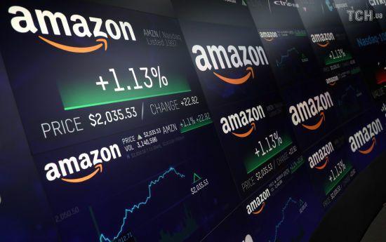 """""""Перший після Apple"""". Вартість Amazon досягла трильйона доларів"""