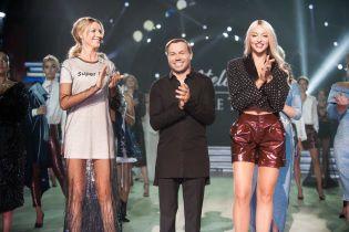 Зірки показу Andre Tan: Полякова у міні-шортах, Нікітюк у прозорій сукні, Дімопулос – у білій