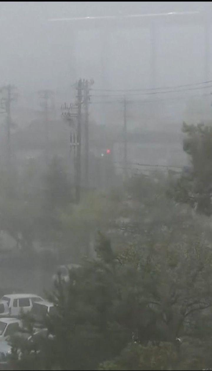 """Хаос и человеческие жертвы. Запад Японии атаковал мощный тайфун """"Джеби"""""""
