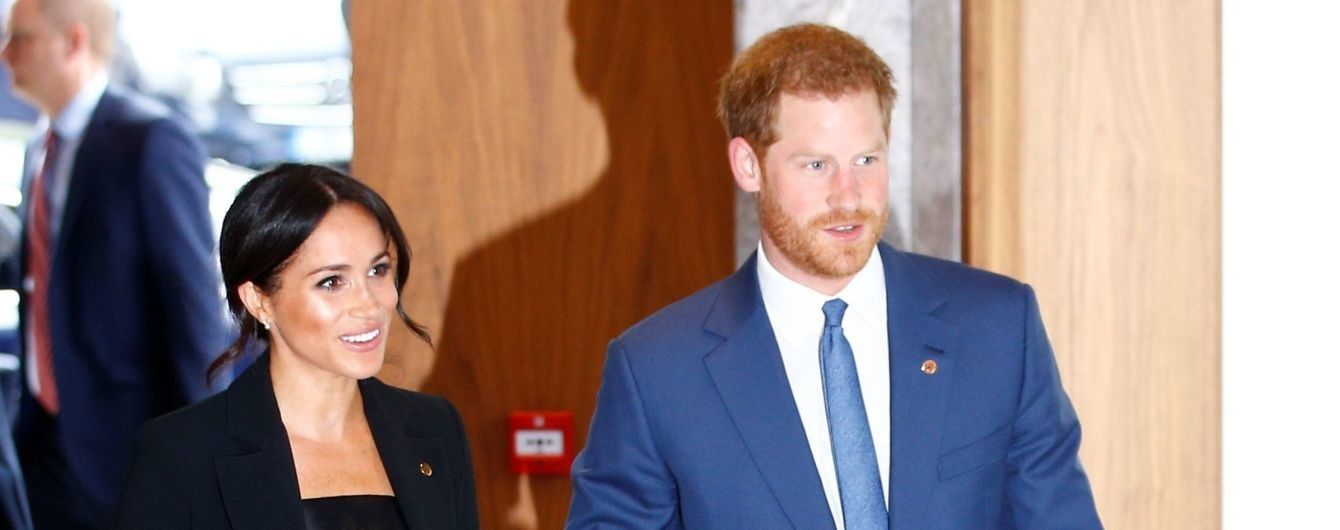 У костюмі і на шпильках: герцогиня Сассекська Меган з принцом Гаррі відвідали благодійний захід