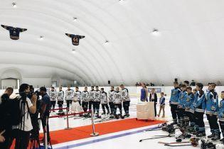 В Киеве открыли новую ледовую арену