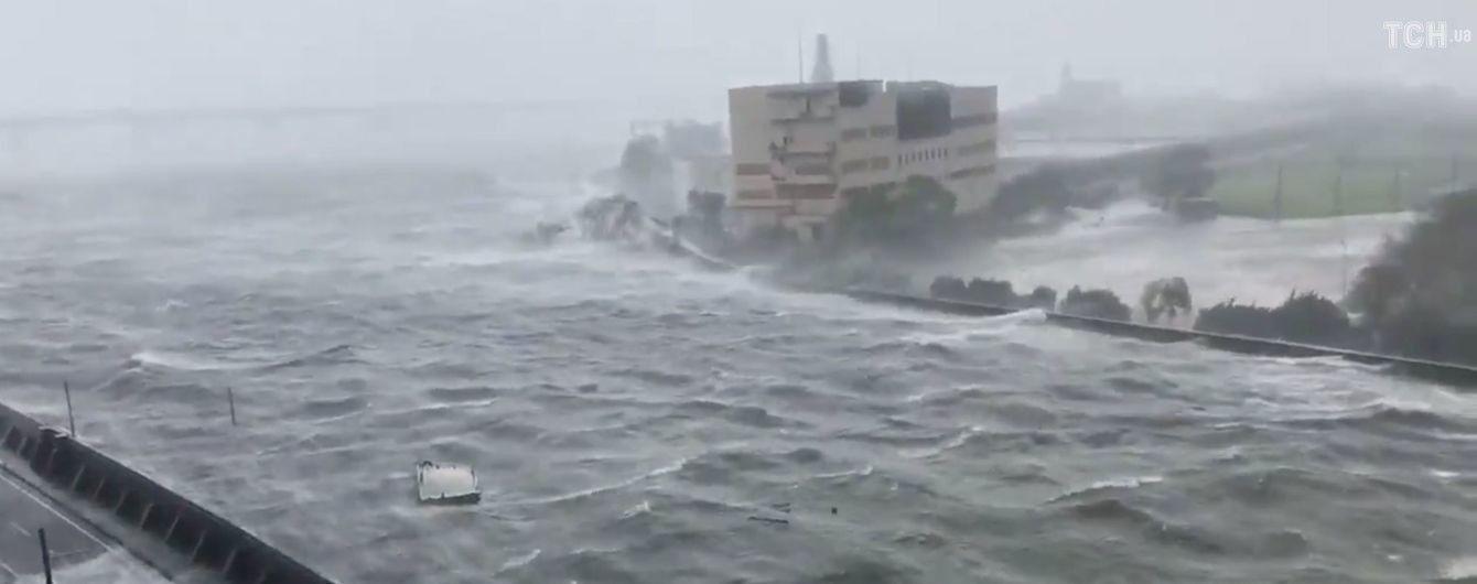 У Японії зросла кількість жертв найпотужнішого за останні 25 років тайфуна