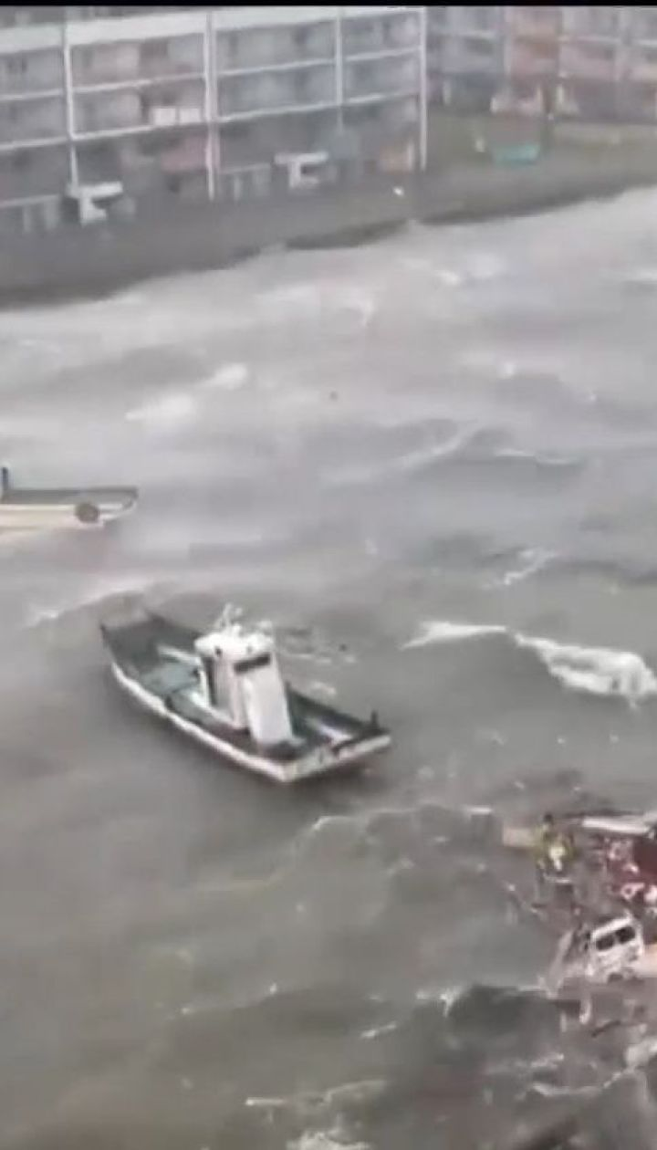 У Японії зросла кількість жертв потужного тайфуну
