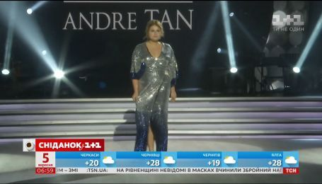 Учасниці кастингу Модель XL взяли участь у показі Андре Тана