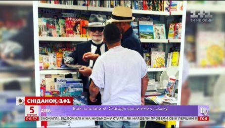 MONATIK в Сен-Тропе случайно встретил Карла Лагерфельда