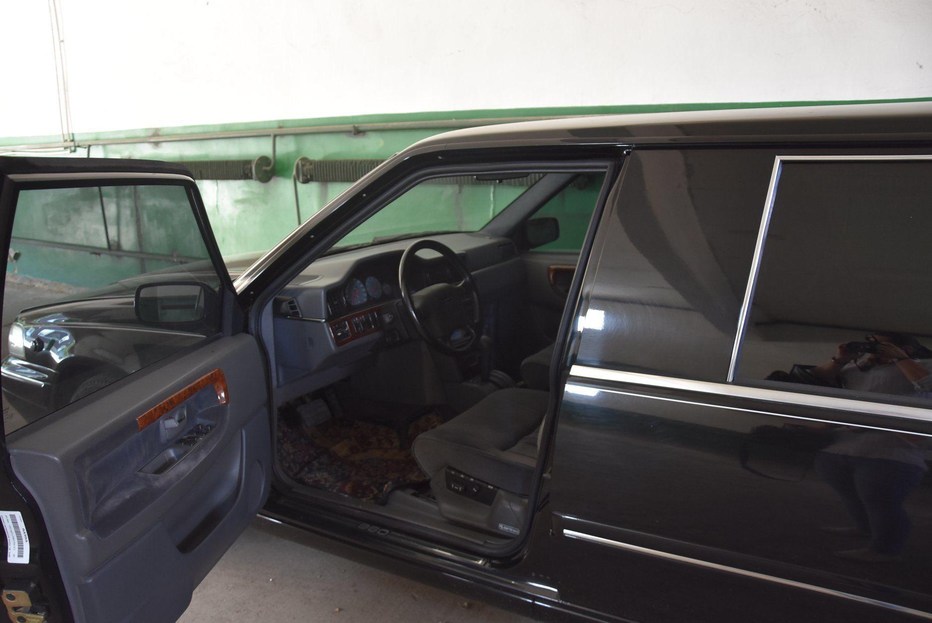 Лимузин Кучмы, Volvo