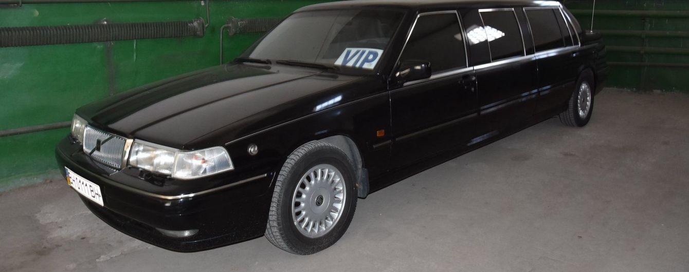 В Одесском автопарке обнаружили раритетный лимузин Кучмы