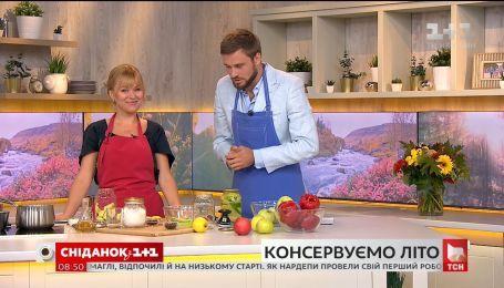 Маринованный перец с яблоками - рецепт от кулинарного блогера Дарьи Дорошкевич