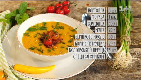 Суп-пюре из чечевицы с томатами - рецепты Руслана Сеничкина