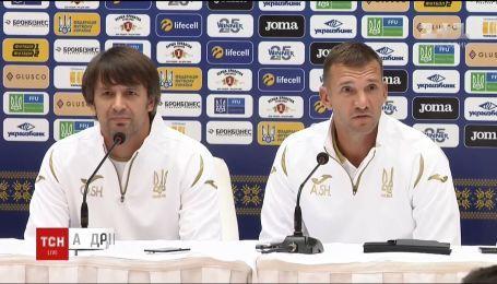 Олександр Шовковський повернувся до збірної України з футболу