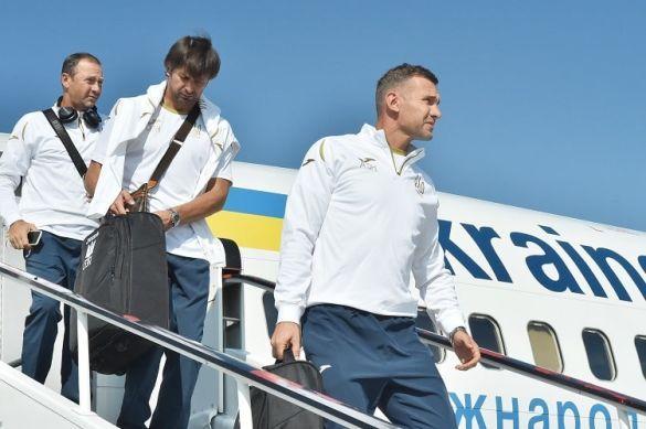 Приліт збірної України до Чехії