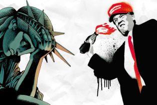 """ТСН Stories. Лучшие обложки журналов с """"американским психопатом"""" Трампом"""
