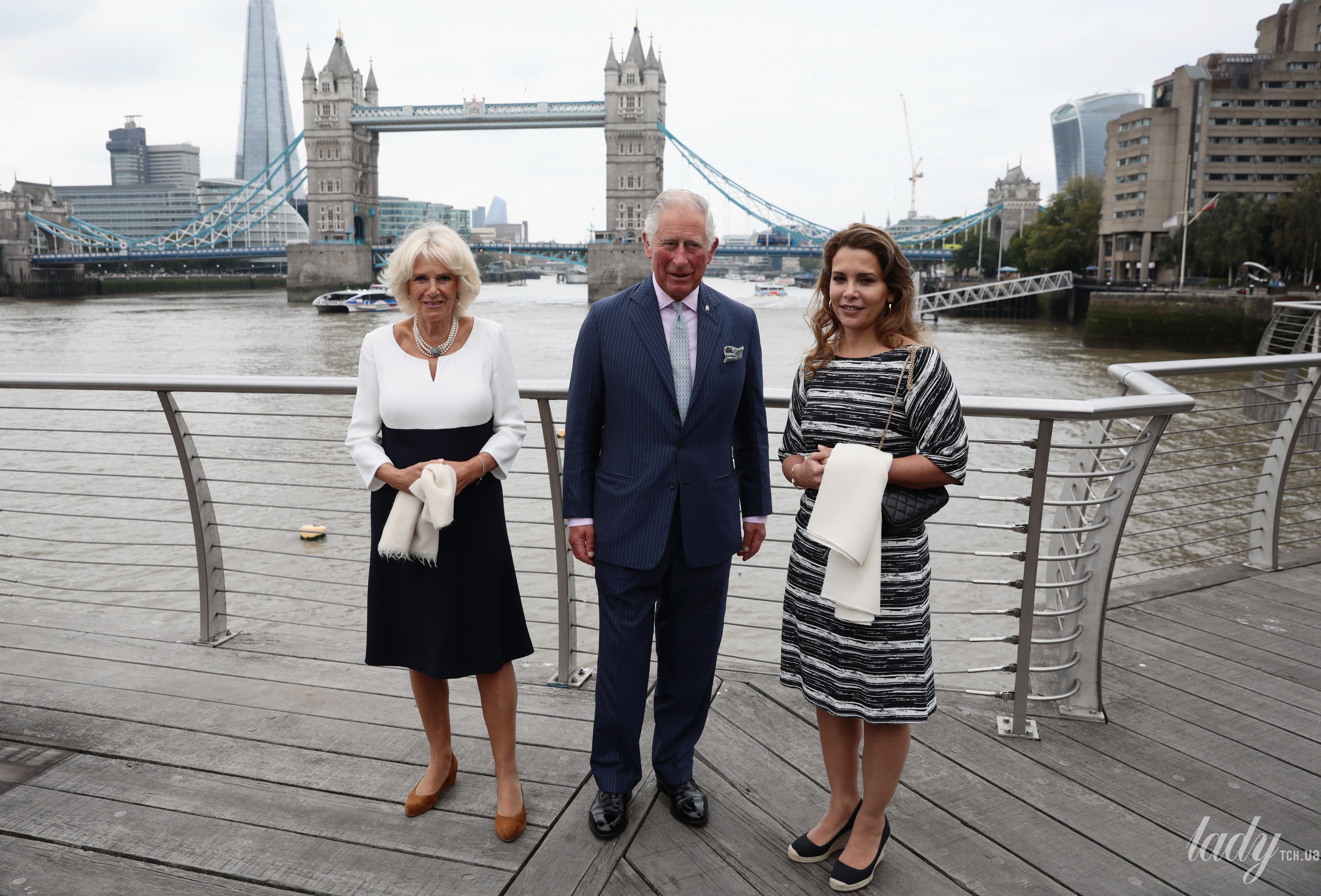 Герцогиня Корнуольская Камилла, принц Чарльз и иорданская принцесса Хайя бинт аль-Хусейн_1