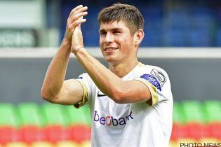 Українець Малиновський визнаний найкращим футболістом у чемпіонаті Бельгії