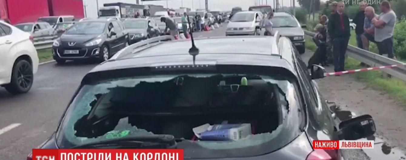 Німець, який проривався через український кордон, перебуває в розшуку