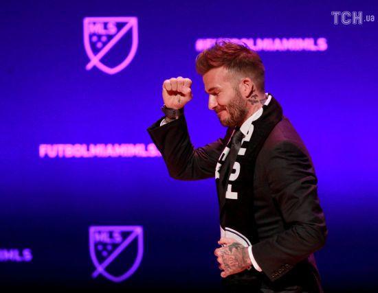 """Бекхем презентував свій новий футбольний клуб словами """"This is Miami"""""""