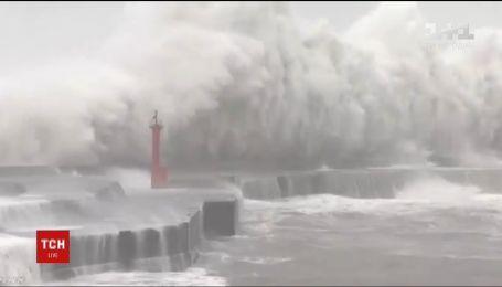 """Смертоносная стихия в Японии: число жертв тайфуна """"Джеби"""" возросло до 11"""