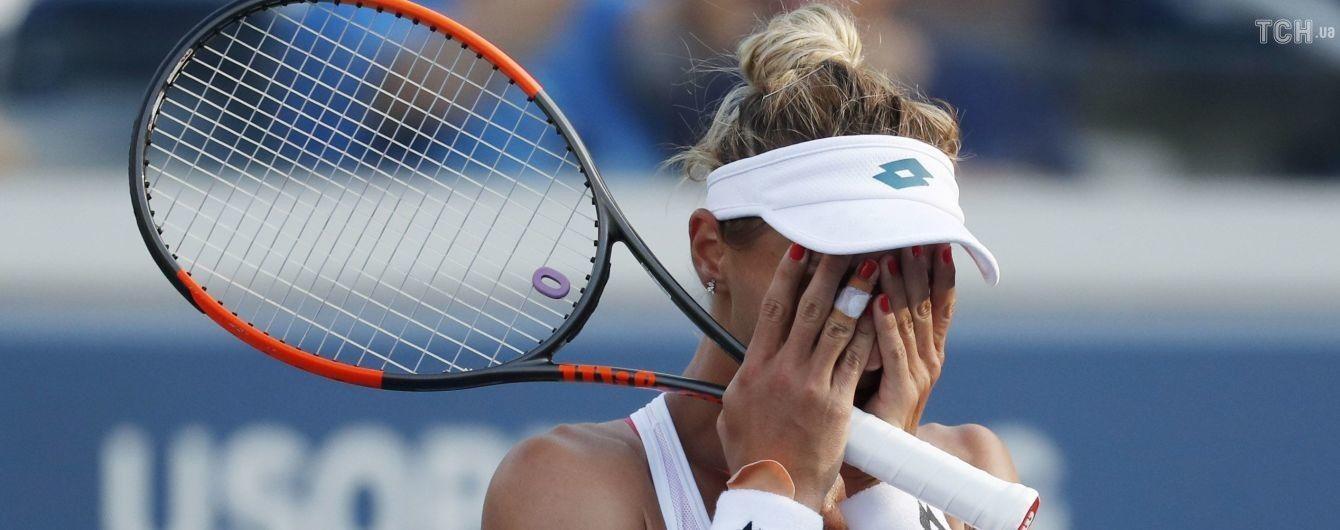 Цуренко не змогла вийти у півфінал US Open, взявши лише два гейми