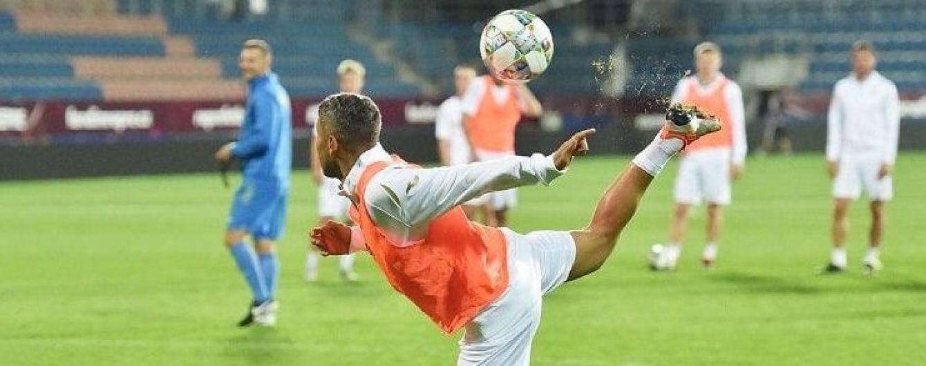 Игроки сборной Украины опробовали поле в Чехии перед стартом Лиги наций, Бойко не занимался