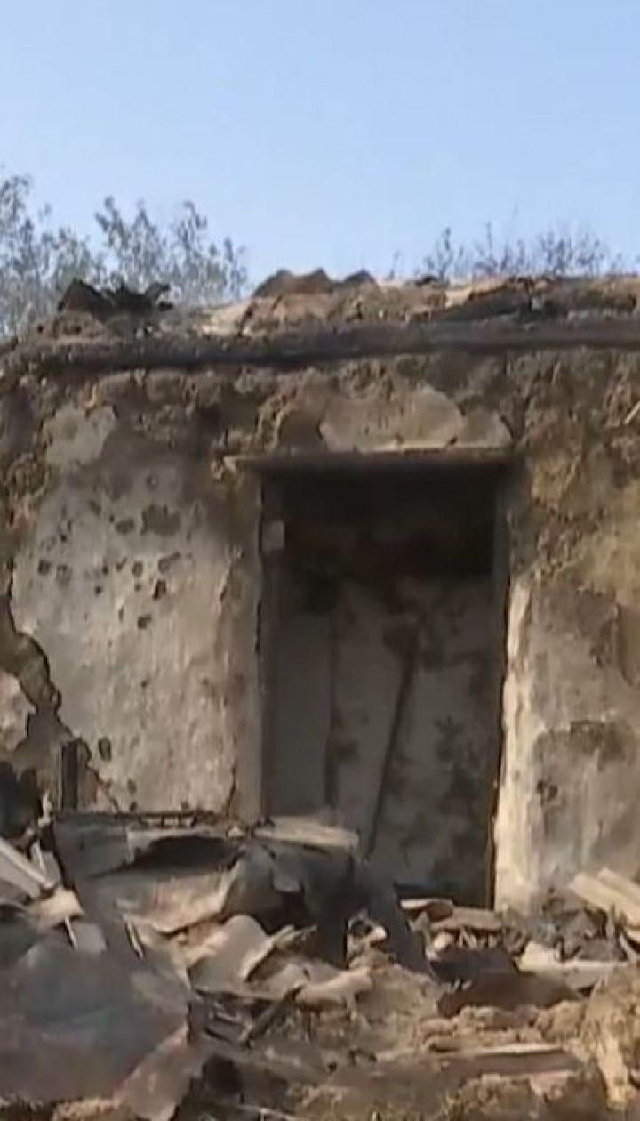 Сводка штаба ООС. После обстрела из пулемета в Красногоровке возник пожар