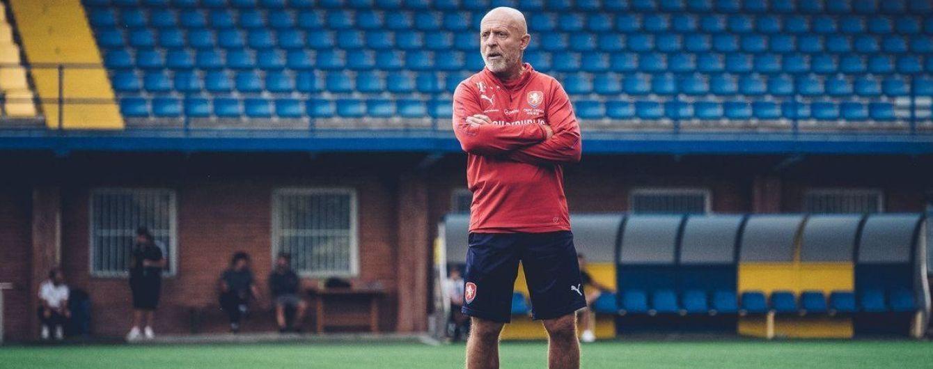 Тренер збірної Чехії назвав найнебезпечніших гравців у складі України