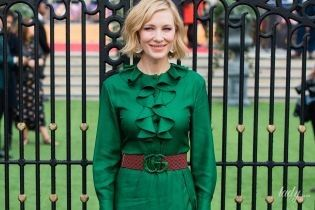 С разрезом до попы на премьере детского фильма: Кейт Бланшетт удивила выбором наряда