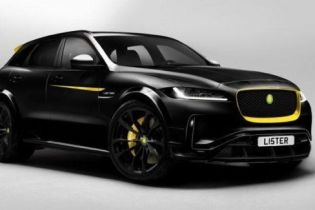 """У Jaguar F-Pace з'явився """"зловісний"""" супершвидкісний близнюк"""