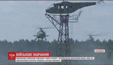 В международных военных учениях во Львовской области берут участие 14 стран