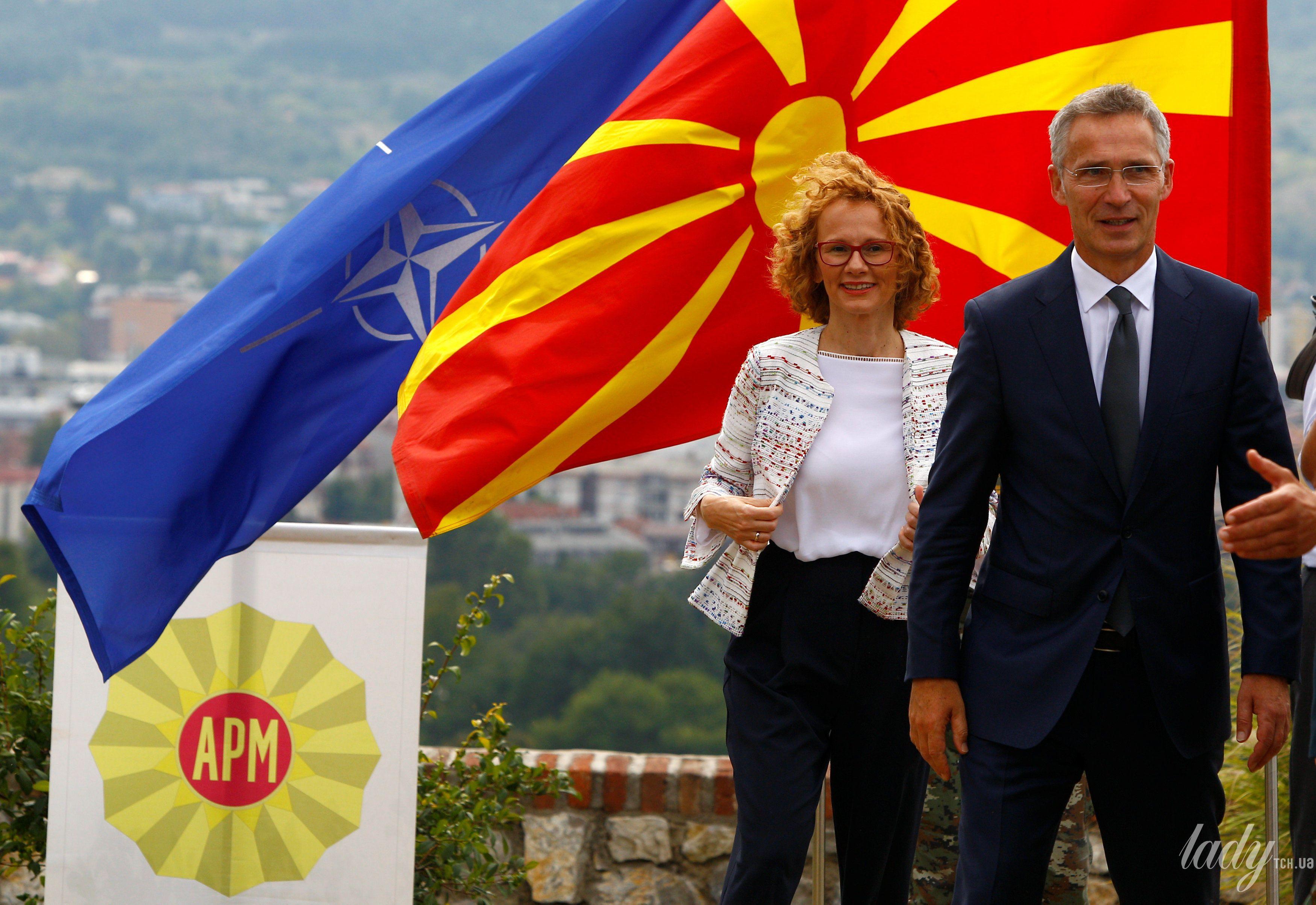 Министр обороны Македонии Радмила Шекеринская