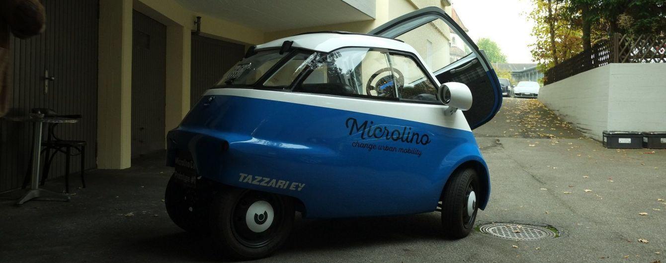 Сітікари Microlino на електриці продаватимуть в Європі за 12 тисяч євро