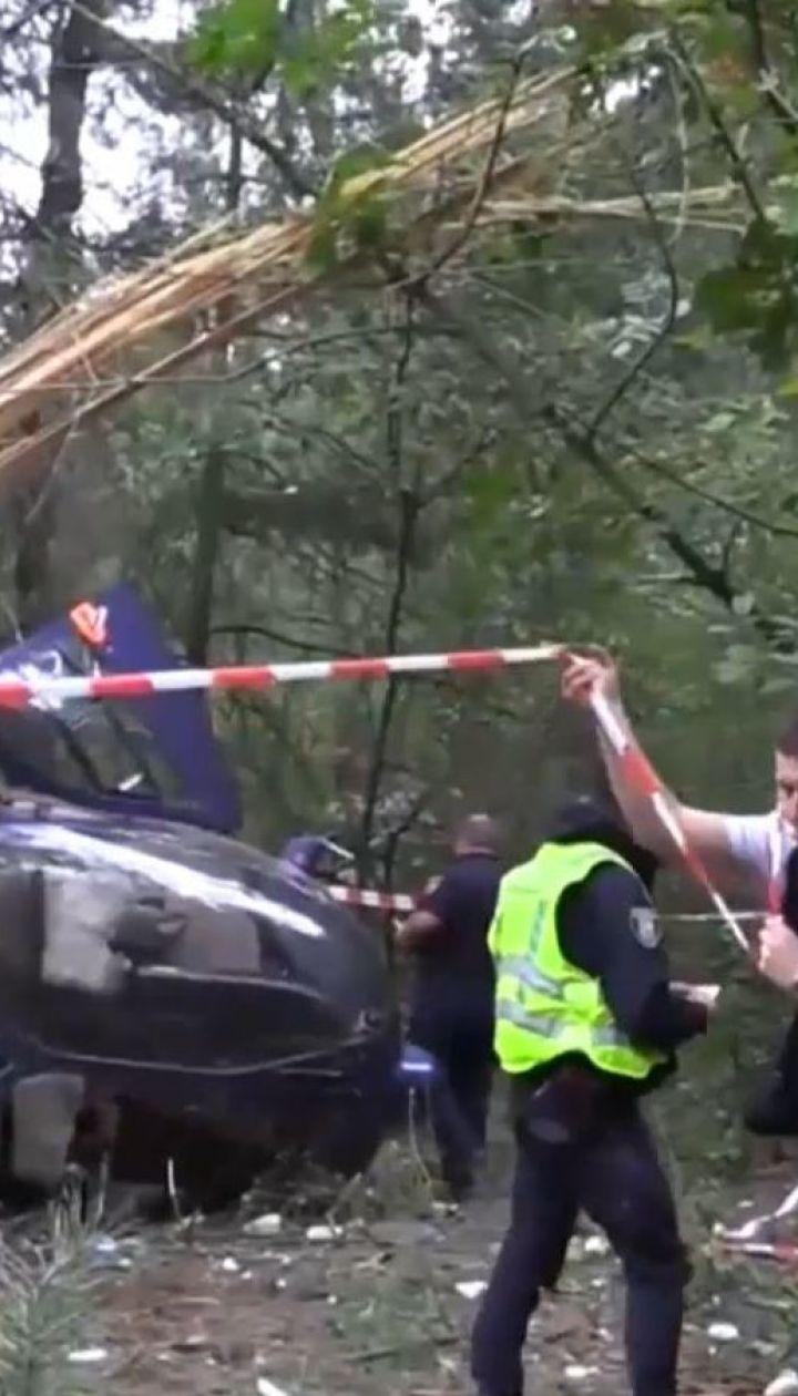 Бюро розслідування авіаційних подій встановлює причину падіння гвинтокрила на Трухановому острові