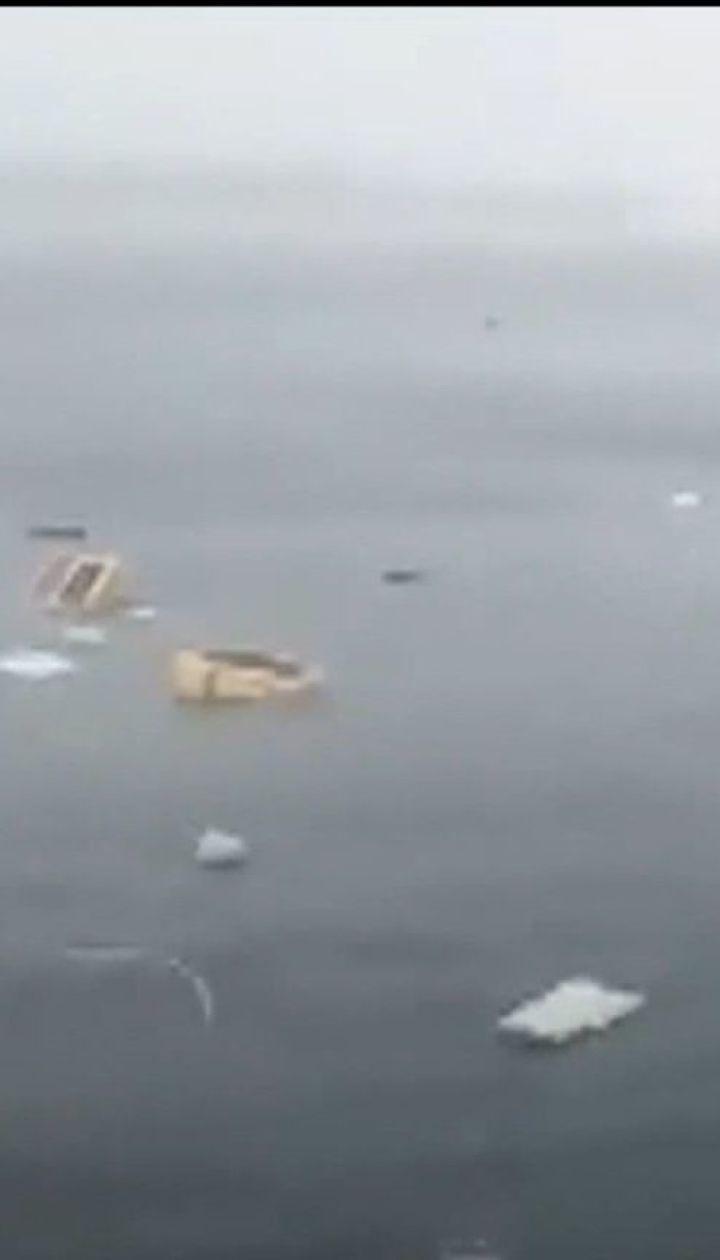 У Стамбулі впав у море ґвинтокрил, що належав приватній турецькій компанії