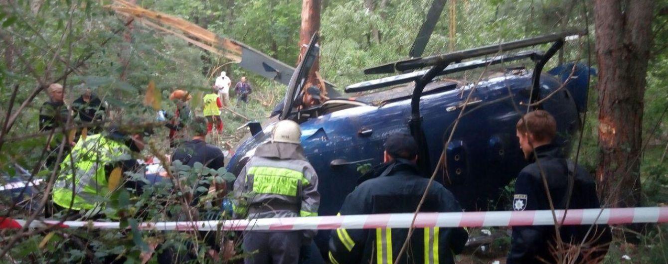 Вертолет Косюка, который разбился в Киеве, стоит до 9 миллионов евро