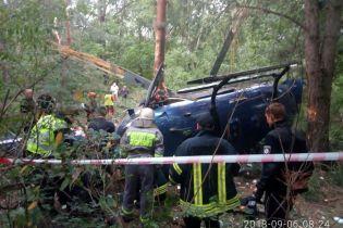 Гелікоптер Косюка, що розбився в Києві, коштує до 9 мільйонів євро
