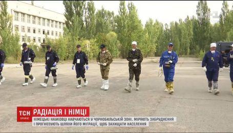 Німецькі фізики проводять навчання у Чорнобильській зоні