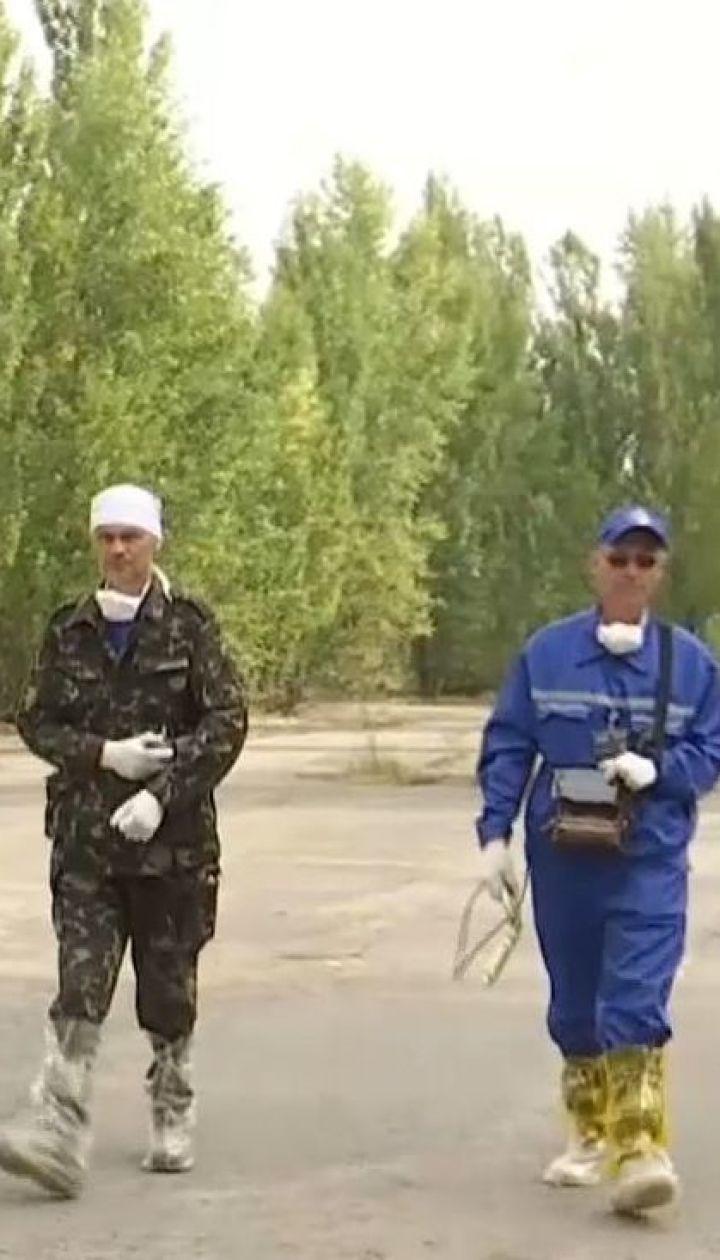 Немецкие физики проводят учения в Чернобыльской зоне