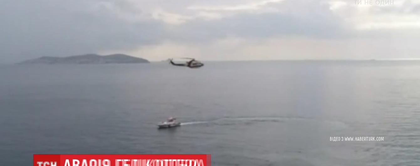 День падения вертолетов. Очередной упал в море в Турции