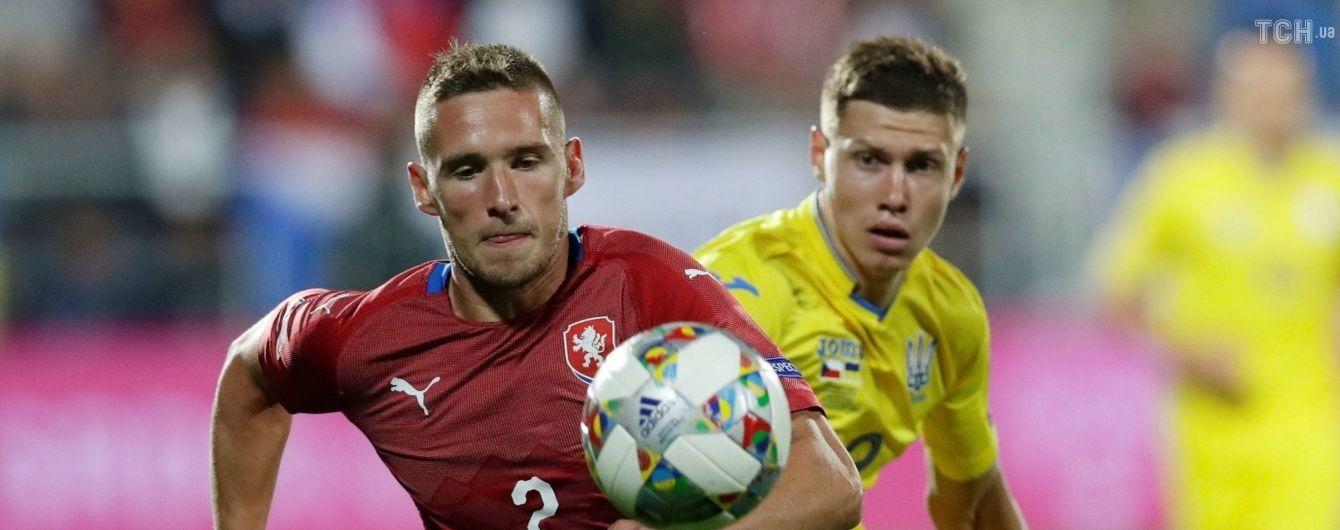Чехія оголосила склад на матч Ліги націй проти України
