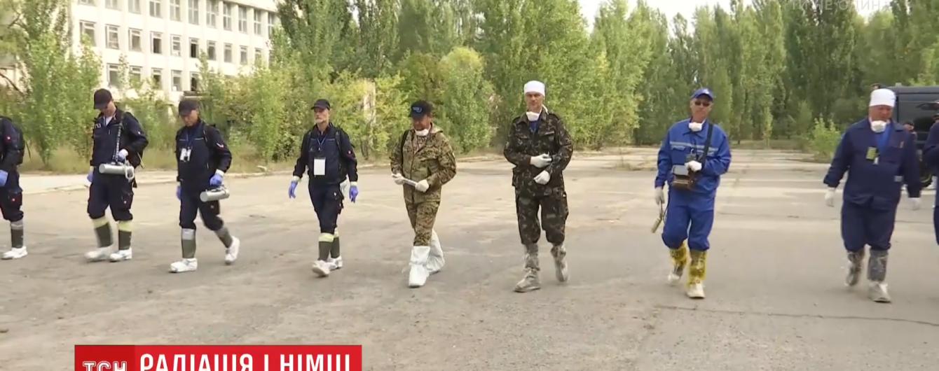 Немецкие ученые проводят учения в Чернобыле и измерили там радиацию