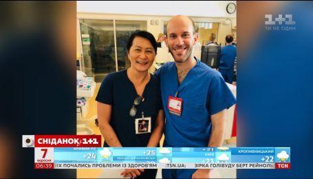 В одній з лікарень Америки лікар зустрів медсестру, яка колись врятувала йому життя