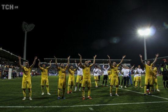 Гравці збірної України подякували фанатам за яскраву підтримку у Чехії